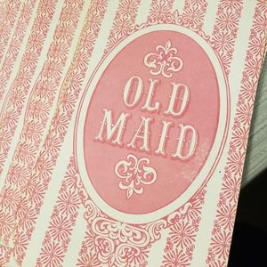 Vintage..1978 giant old maid cards